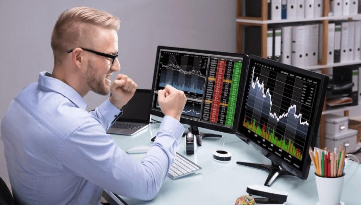 Trader bourse
